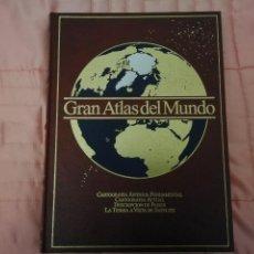 Libros: ATLAS,, GRAN ATLAS DEL MUNDO,,,, CÍRCULO DE ELECTORES,,, 1989...496 PAGINAS. Lote 122260775