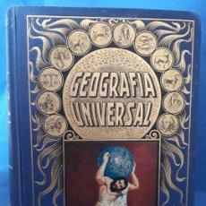 Libros: GEOGRAFIA UNIVERSAL,ED.RAMON SOPENA-1933.NO ADMITE OFERTAS. Lote 139629238