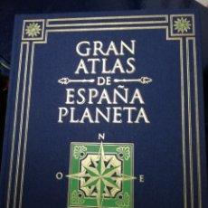 Libros: GRAN ATLAS DE ESPAÑA. ED. PLANETA. Lote 125446132