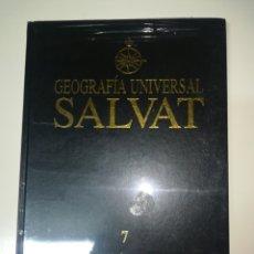 Libros: GEOGRAFÍA UNIVERSAL SALVAT 7 AMERICA NUEVO PRECINTADO. Lote 143038561