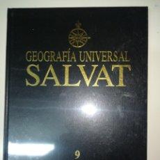 Libros: GEOGRAFÍA UNIVERSAL SALVAT 9 AMERICA - ANTARTIDA. Lote 143264636
