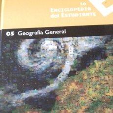 Libros: ENCICLOPEDIA DEL ESTUDIANTE NÚMERO 5 - GEOGRAFIA GENERAL. Lote 147343186