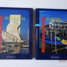 Libros: LOTE 2 LIBROS MARAVILLAS DEL MUNDO. Lote 147680730