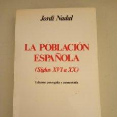 Libros - La población española (Siglos XVI a XX) - 150056778