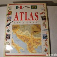 Libros: ENCICLOPEDIA: ATLAS MUNDIAL ILUSTRADO. EDELVIVES, AÑO 1994. NUEVO.. Lote 150647010