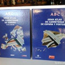 Libros: GRAN ATLAS DE CARRETERAS DE ESPAÑA Y PORTUGAL Y DE EUROPA,DIARIO ABC. Lote 150680626