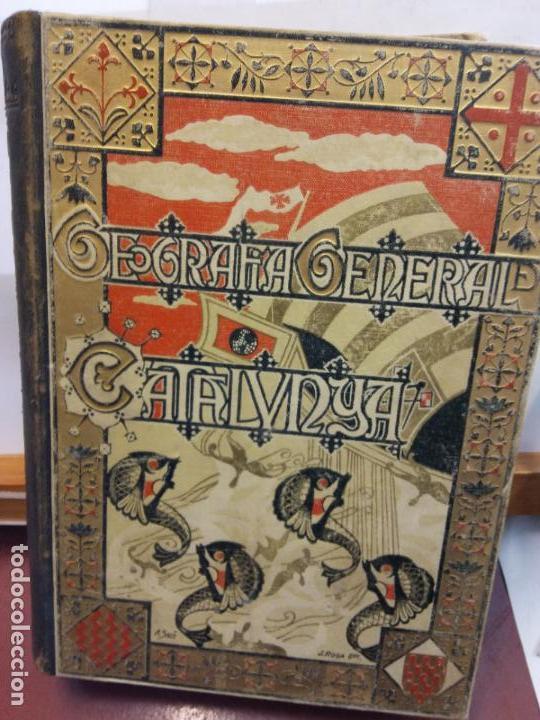 STQ.FRANCESCH CARRERAS.GEOGRAFIA GENERAL DE CATALUNYA.EDT, ALBERTO MARTIN.. (Libros Nuevos - Humanidades - Geografía)