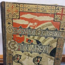 Libros: STQ.FRANCESCH CARRERAS.GEOGRAFIA GENERAL DE CATALUNYA.EDT, ALBERTO MARTIN.BRUMART TU LIBRERIA.. Lote 151080986