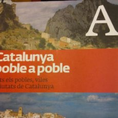 Libros: BJS.CATALUNYA POBLE A POBLE.TOMO 1.EDT, LA VANGUARDIA... Lote 151681566