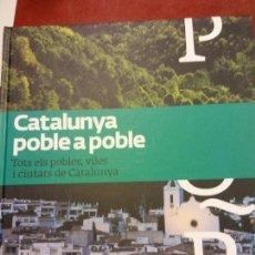 Libros: BJS.CATALUNYA POBLE A POBLE.TOMO 9.EDT, LA VANGUARDIA... Lote 151684202