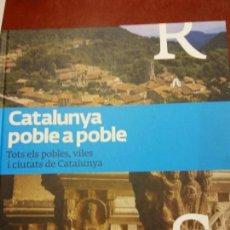 Libros: BJS.CATALUNYA POBLE A POBLE.TOMO 10.EDT, LA VANGUARDIA... Lote 151684506
