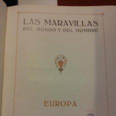 Libros: BJS.J. PUGES.LAS MARAVILLAS DEL MUNDO Y DEL HOMBRE.EDT, IBERICA.BRUMART TU LIBRERIA.. Lote 151929790