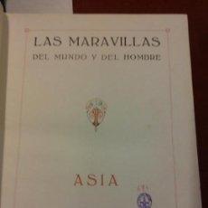 Libros: BJS.J. PUGES.LAS MARAVILLAS DEL MUNDO Y DEL HOMBRE.EDT, IBERICA.BRUMART TU LIBRERIA.. Lote 151930354