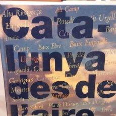 Libros: BJS.CATALUNYA DES DE L´AIRE. 2 TOMOS.EDT, AVUI.BRUMART TU LIBRERIA.. Lote 152098646