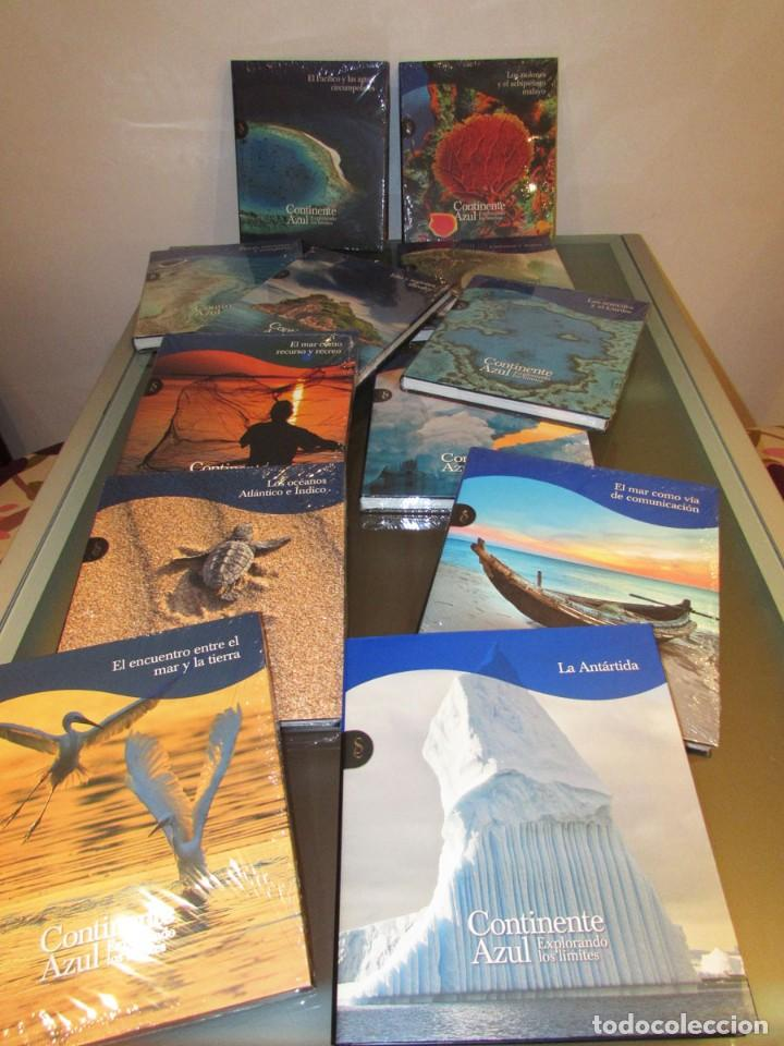 CONTINENTE AZUL (2011) - RUBÉN RUEDA (DIRECCIÓN) - ISBN: 9788484475576 - OPORTUNIDAD !!! (Libros Nuevos - Humanidades - Geografía)