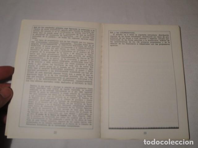 Libros: ¿ Quiénes son los propietarios de la Tierra ?.Autores: Manuela Leal y Salvador Martín. Año 1977. - Foto 3 - 157295566