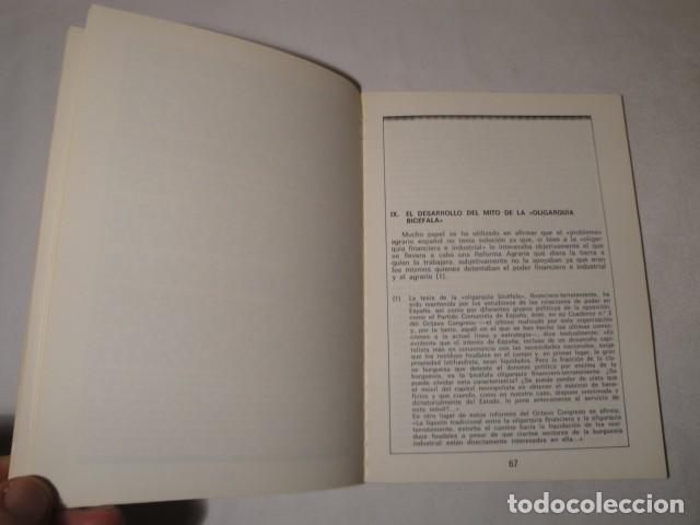 Libros: ¿ Quiénes son los propietarios de la Tierra ?.Autores: Manuela Leal y Salvador Martín. Año 1977. - Foto 5 - 157295566