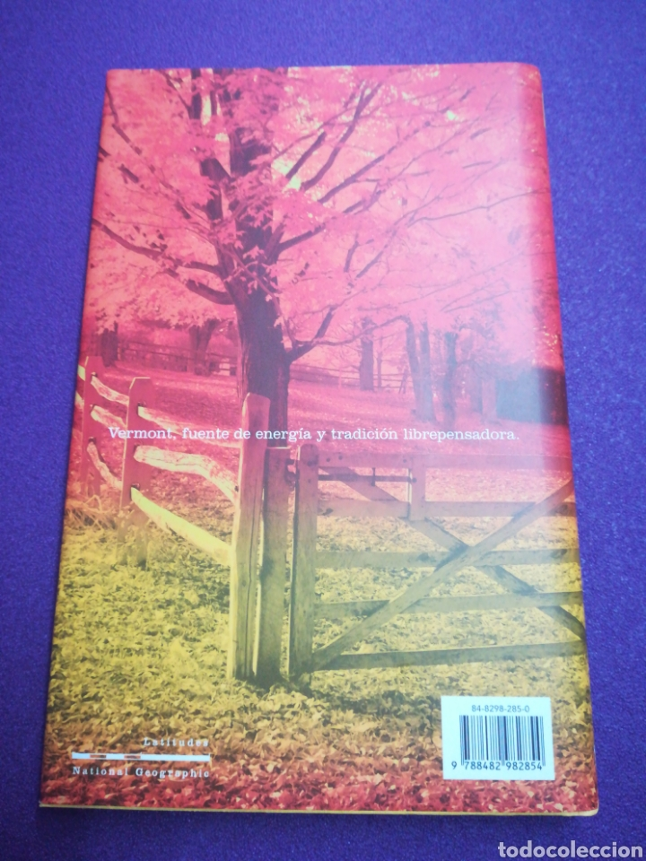 Libros: Al Sur del Edén David Mamet National Geographic (Thoreau Emerson Vermont Nueva Inglaterra) RBA - Foto 2 - 159328490