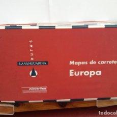 Libros: BJS.MAPAS DE CARRETERAS DE EUROPA.EDT, LA VANGUARDIA.BRUMART TU LIBRERIA.. Lote 166277350