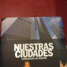 Libros: STQ.NUESTRAS CIUDADES.COMUNIDAD DE MADRID.EDT, SIGNOS.BRUMART TU LIBRERIA.. Lote 166374162