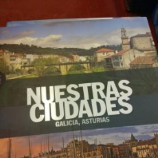 Libros: STQ.NUESTRAS CIUDADES.GALICIA,ASTURIAS.EDT, SIGNOS.BRUMART TU LIBRERIA.. Lote 166374578