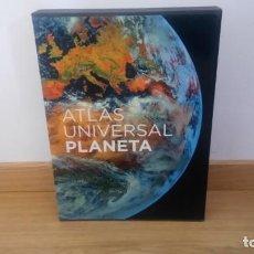 Libros: ATLAS UNIVERSAL PLANETA. Lote 166547026
