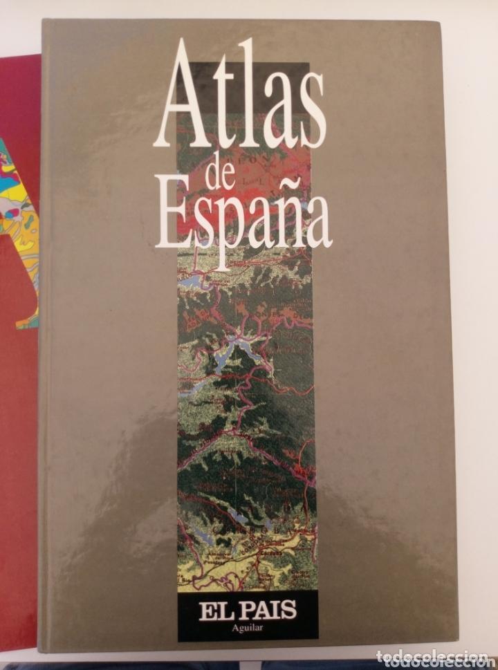 Libros: ATLAS DE ESPAÑA EL PAÍS - EDICIONES AGUILAR 2 volúmenes - Foto 2 - 173206642