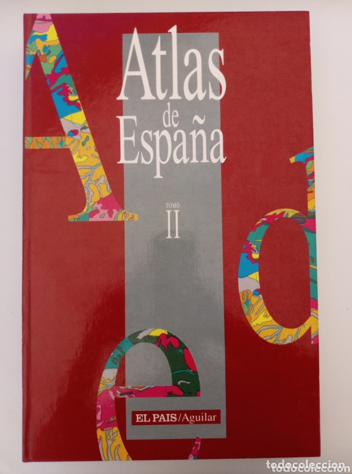 Libros: ATLAS DE ESPAÑA EL PAÍS - EDICIONES AGUILAR 2 volúmenes - Foto 3 - 173206642