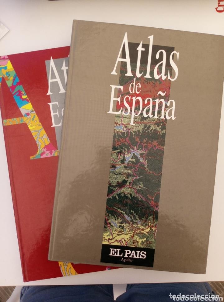 ATLAS DE ESPAÑA EL PAÍS - EDICIONES AGUILAR 2 VOLÚMENES (Libros Nuevos - Humanidades - Geografía)