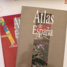 Libros: ATLAS DE ESPAÑA EL PAÍS - EDICIONES AGUILAR 2 VOLÚMENES. Lote 173206642