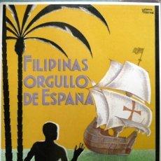 Libros: PALACIOS, JULIO. FILIPINAS, ORGULLO DE ESPAÑA. UN VIAJE POR LAS ISLAS DE LA MALASIA. FACSÍMIL. 1998.. Lote 180083292