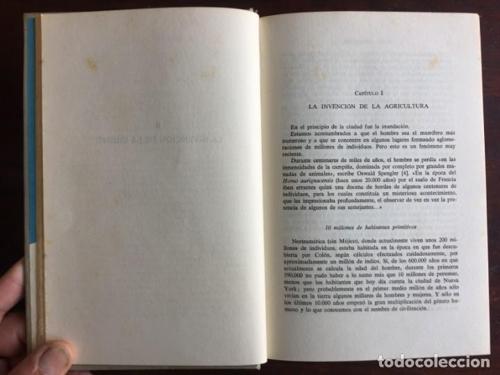 Libros: De Babilonia a Brasilea De Zischka. 1961. Con 7 capítulos origen de las ciudades desde la antiguedad - Foto 4 - 181511278