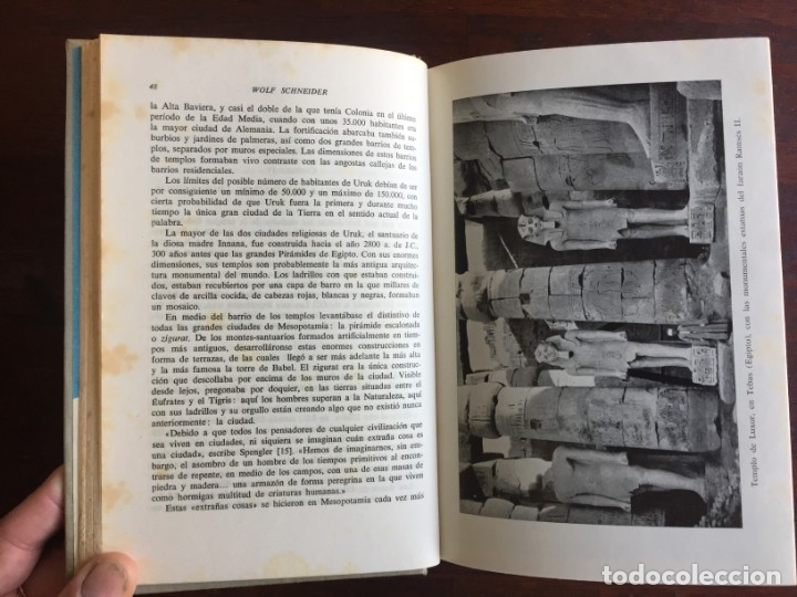 Libros: De Babilonia a Brasilea De Zischka. 1961. Con 7 capítulos origen de las ciudades desde la antiguedad - Foto 6 - 181511278