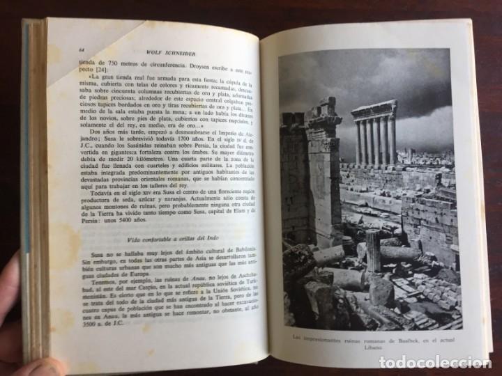 Libros: De Babilonia a Brasilea De Zischka. 1961. Con 7 capítulos origen de las ciudades desde la antiguedad - Foto 7 - 181511278