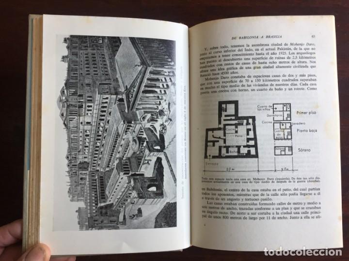 Libros: De Babilonia a Brasilea De Zischka. 1961. Con 7 capítulos origen de las ciudades desde la antiguedad - Foto 8 - 181511278