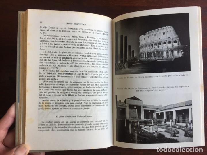 Libros: De Babilonia a Brasilea De Zischka. 1961. Con 7 capítulos origen de las ciudades desde la antiguedad - Foto 9 - 181511278