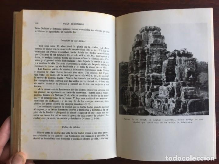 Libros: De Babilonia a Brasilea De Zischka. 1961. Con 7 capítulos origen de las ciudades desde la antiguedad - Foto 11 - 181511278