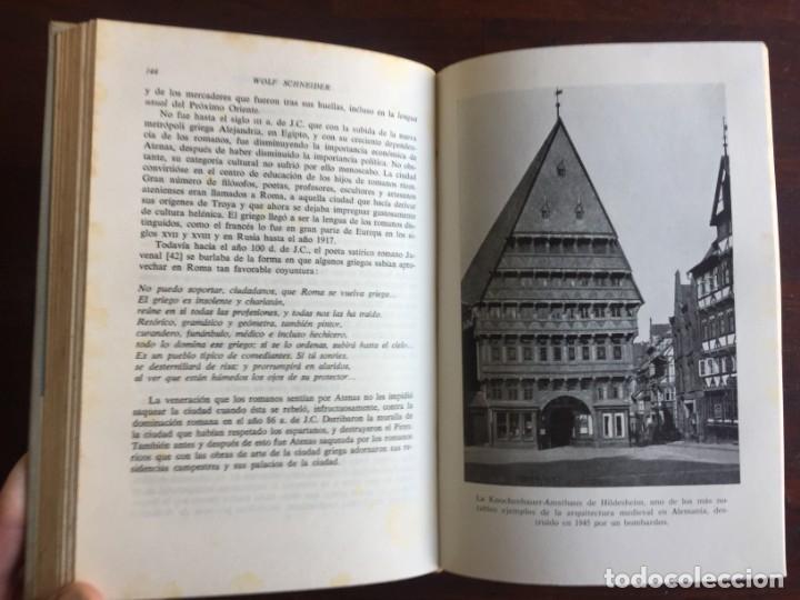 Libros: De Babilonia a Brasilea De Zischka. 1961. Con 7 capítulos origen de las ciudades desde la antiguedad - Foto 13 - 181511278