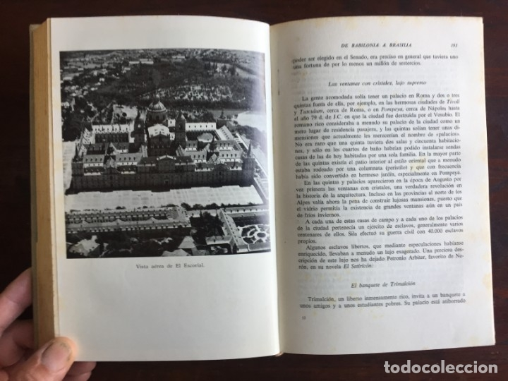 Libros: De Babilonia a Brasilea De Zischka. 1961. Con 7 capítulos origen de las ciudades desde la antiguedad - Foto 15 - 181511278