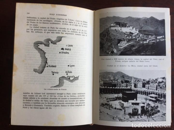 Libros: De Babilonia a Brasilea De Zischka. 1961. Con 7 capítulos origen de las ciudades desde la antiguedad - Foto 19 - 181511278