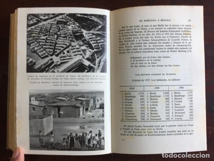 Libros: De Babilonia a Brasilea De Zischka. 1961. Con 7 capítulos origen de las ciudades desde la antiguedad - Foto 23 - 181511278
