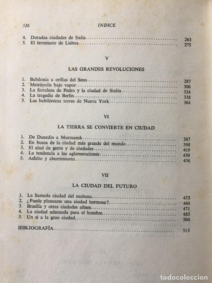 Libros: De Babilonia a Brasilea De Zischka. 1961. Con 7 capítulos origen de las ciudades desde la antiguedad - Foto 27 - 181511278