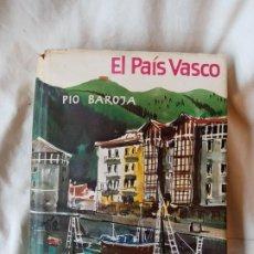 Libros: PIO BAROJA EL PAIS VASCO 3 ED 1966. Lote 192227607