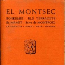Libros: EL MONTSEC. Lote 194258047