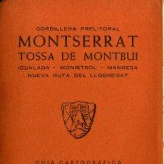 Libros: MONTSERRAT. Lote 194258446