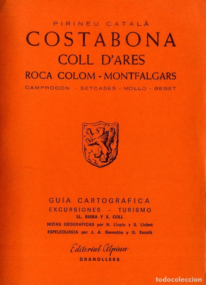 COSTABONA - COLL D´ARES (Libros Nuevos - Humanidades - Geografía)