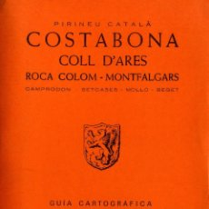 Libros: COSTABONA - COLL D´ARES. Lote 194258455