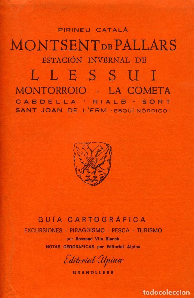 MONTSENT DE PALLARS- LLESUI (Libros Nuevos - Humanidades - Geografía)