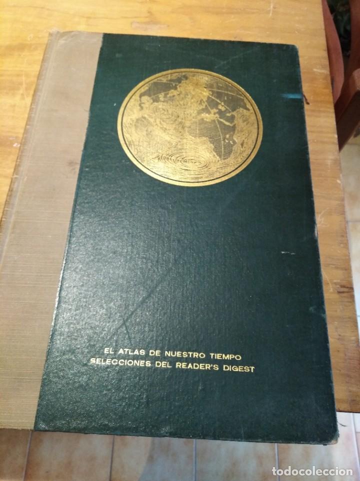 EL ATLAS DE NUESTRO TIEMPO SELECCIONES READER´S DIGEST (Libros Nuevos - Humanidades - Geografía)