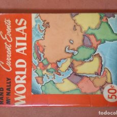 Libros: ATLAS MUNDIAL EN INGLÉS. WORLD ATLAS. RAND MCNALLY.. Lote 197632953
